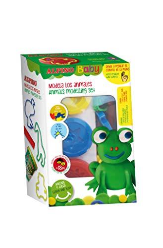 Alpino Baby Dough Animales (3X85gr) - Mi Primera Pasta Blanda