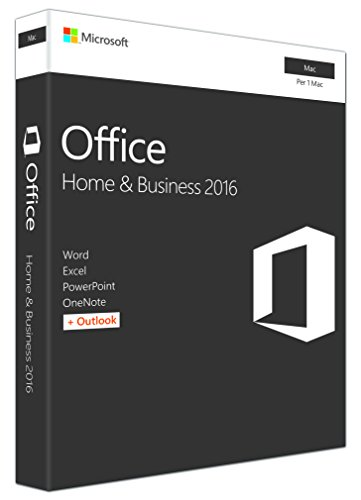 Microsoft Office 2016 - Home & Business (Mac) [1 dispositivo / versione perpetua]