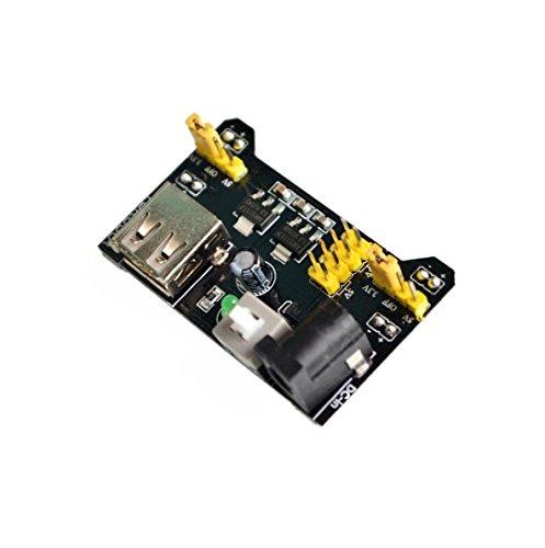 DIYUKMALL MB102 Breadboard Power Supply Module 3.3V 5V for Arduino Solderless Bread Board Voltage Regulator DIY