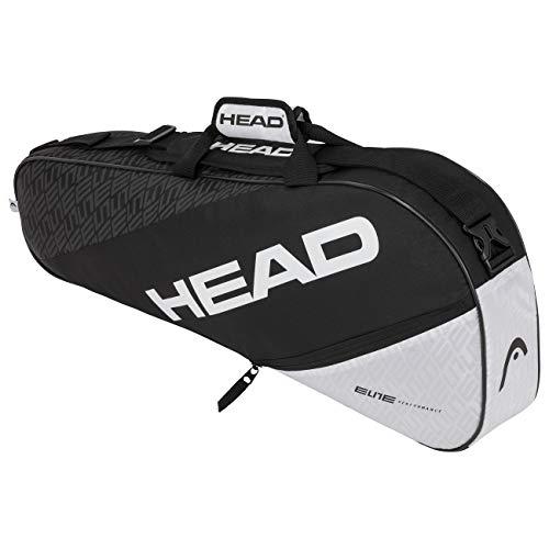 Photo of HEAD Unisex's ELITE 3R Pro Tennis Bag, Black/White, One Size