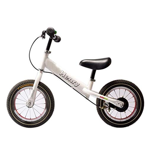 I will take action now Balance Bike White - Equilibrio del Freno...
