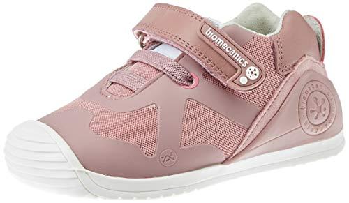 potente para casa Biomecanics 191168, zapatillas de interior unisex para niños, rosa (rosa (cuadrícula) B), 23 EU