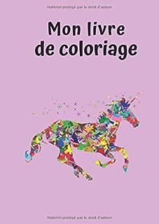 Mon livre de coloriage: Licorne No. 3   30 Pages    Blanc    Idée Cadeau (French Edition)