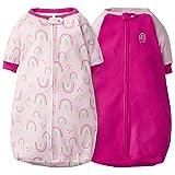 Gerber Baby Girls 2-Pack Sleep Bag, Pink Love, 0-6 Months