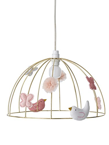 VERTBAUDET Suspension Cage à oiseaux doré TU