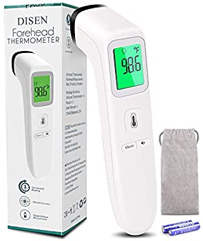 Non-Contact Thermometer for Adults and Kid,No Touch Infrared Forehead Thermometer for Fever Smart Temperature Gun Reading Detection on Forehead
