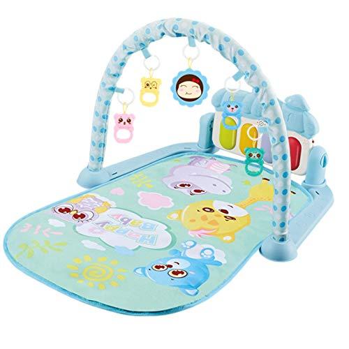 SHEDE Rainforest Piano Gym Manta de Juego para Bebé Baby Play Mat con música y luces Actividad Gimnasio Bebé Juguete honest