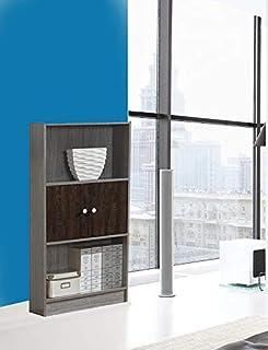 Maison Concept Wooden Shelves, Brown - H 1194 mm x W 298 mm x D 600 mm