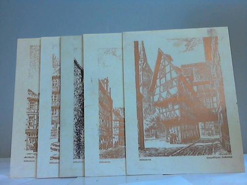 6 Druckplatten für Graphiken (15 cm x 20 cm)