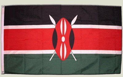 Flagge Kenia - 90 x 150 cm