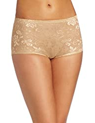 Heavenly Shapewear Women's Jacquard Padded Panty