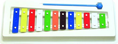 Xylophon Goldon 11003 12 Tönen 27 cm aus Plastik