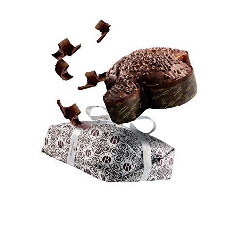Bonfissuto Taube mit Schokolade Fondant, natürliche Gießen, handgefertigt, 1 kg