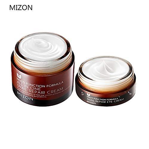 Uniqus Mizon All In One Snail Repair Cream 50 ml + Crema Crema Crema Crema Crema Crema Facial de 25 ml