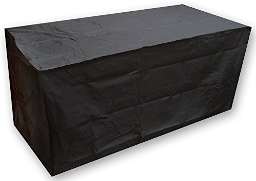 Ruichenxi ® Funda protectora para mesa de jardín (tamaño: 155x115x65cm)