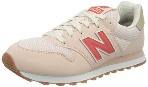 New Balance Damen 500 Sneaker, Pink (GW500HHH), 40.5 EU