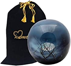 Midnight Moon Sphere of Life Cremation Urn for Human Ashes by Memorials4u - Adult Funeral Urn Handcrafted - Affordable Urn for Ashes - Large Urn Deal.