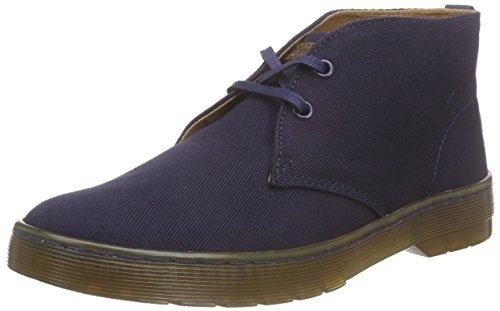 Dr. Martens Herren Mayport Twill Canvas Desert Boots, Blau (Navy), 39 EU