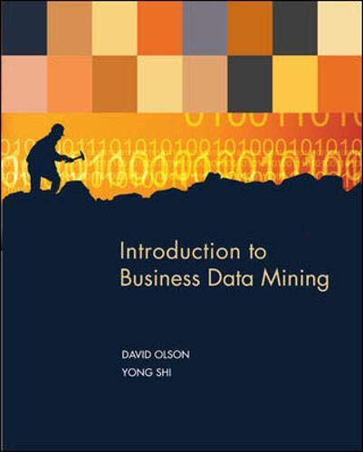 Introduction to Business Data Mining