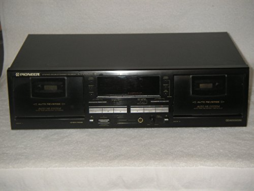 PIONEER Stereo Double Cassette Deck CT-W503R, Perfect!