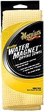 Meguiar's X2000 Water Magnet Microfiber Drying Towel, 1 Pack , Yellow , 22