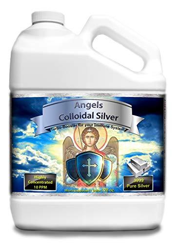 Angels Colloidal Silver (1 Gallon Plastic Jug)