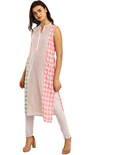 Morpankh by FBB Printed Kurta White