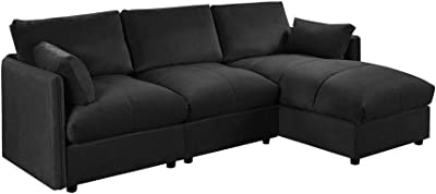 Amazon.com: FDW Sofa Sectional Futon Sofa Bed Living Room Sofas ...