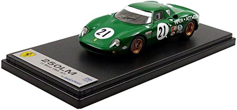 diseñador en linea LOOKSMART LOOKSMART LOOKSMART Ferrari 250LM Le Mans 1968 Escala 1 43  envío gratuito a nivel mundial