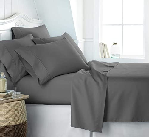 Simply Soft SS 6PC KING GRAY Bed Sheet Set King Gray product image