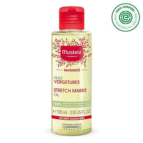 Mustela Mustela Stretch Marks Oil, 3.54 FL. OZ, 100% Ingredients of Natural Origin, 3.55 fl. oz.