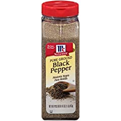 Pure Ground Black Pepper FlavorSealed for freshness Premium quality for superior flavor Fresh flavor guarantee Features woody-piney flavor with a hot biting taste Can be used on nearly any dish! No kitchen should be without McCormick Pure Ground Blac...