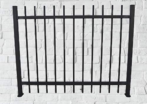 A.M. Ferrotecnica Giardino Recinzione modulare in Ferro zincata Tonda
