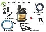 Fieldstar Car 1 High Pressure Vehicle Washer Set-Mounted, 12V (Black)
