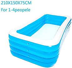 etateta Inflatable Swimming Pools, Inflatable Kiddie Pools, Family Swimming Pool, Swim Center for Kids, Babies, Toddlers, Adults,Outdoor, Garden, Backyard