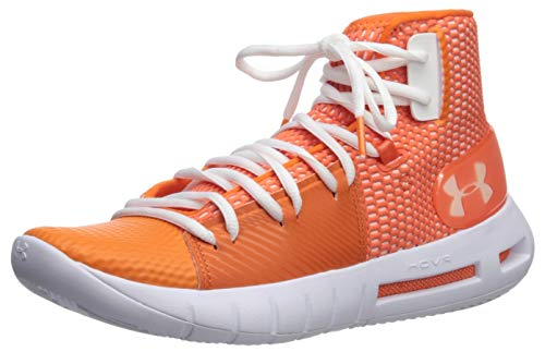 Under Armour Drive 5, Scarpe da Basket Uomo, Team Orange 800, Bianco, 40 EU