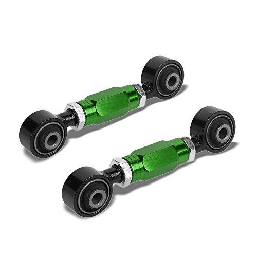 Green Steel Alloy Adjustable Suspension Rear Lower Toe Camber Control Brace/ROD/ARM/Bar Kit For Honda 88-00 Civic EG/EK/EJ/DC/Acura 90-01 Integra