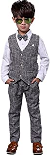 子供スーツ キッズ服 男の子衣装 ズボン、ベスト、シャツ 3点3色入荷 卒業式/入園式/発表会/七五三/フォーマル 90~140cm