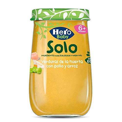 Hero Solo - Tarrito Eco de Verduras de la Huerta, Pollo y Ar
