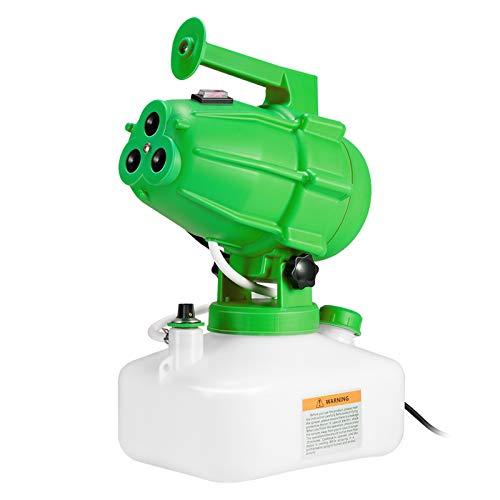 KKTECT Pulverizador nebulizador portátil 5L, Atomizador Desinfectante Eléctrico, Máquina de Niebla Fría, para la Granja del Jardín del Hospital de Escuela-Verde