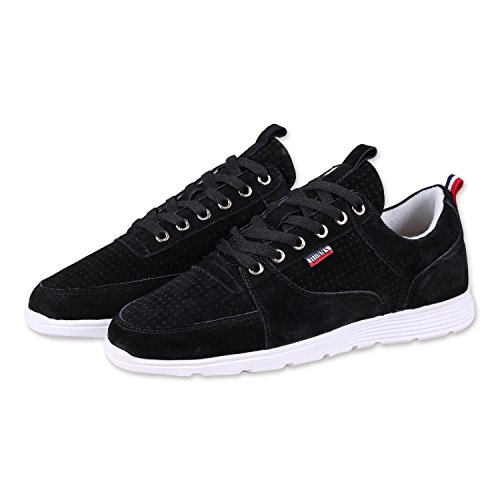 Djinns - Forlow Light B-Player Herren Sneaker Low-Top Schuhe (Black), EU 45