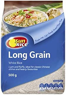 Sunrice White Long Grain 500g