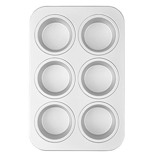 Wilton Jumbo Non-Stick Muffin Pan, 6-Cup