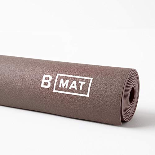 B Yoga Yogamatte B Mat Traveller, Reisematte aus Naturkautschuk (Cacao, 180 cm x 66 cm x 0,2 cm; Gewicht: 1,2 kg)