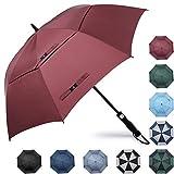 PROSPO 68 Inch Oversized Auto-Open Golf Umbrella Double Canopy Vented Large Windproof Umbrella