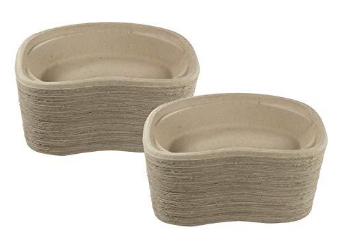 Medi-Inn Nierenschalen aus Pappe   Einweg-Pappnierenschalen   stabil & vielseitig einsetzbar (100 Stück)
