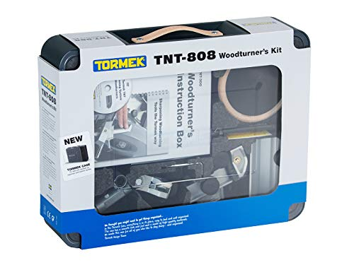 Tormek TNT-808 - Kit completo per affilare i sistemi Tormek raffreddati ad acqua – include tutto il necessario per modellare e affilare tutti gli strumenti di tornitura