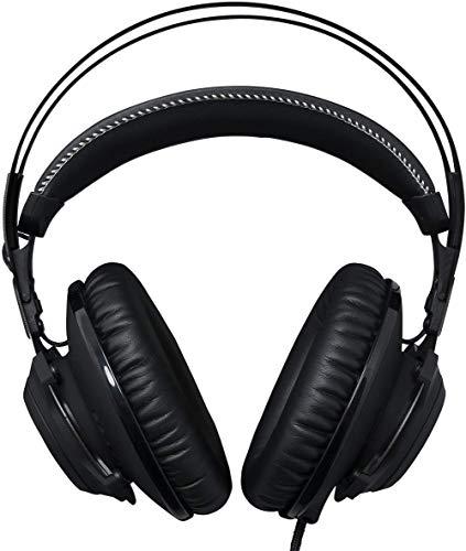 Casque d'écoute pour casque d'écoute, casque de stockage doux, contrôle du volume du microphone, son ambiophonique polyvalent, compatible avec les ordinateurs, les consoles de jeux, les smartphones
