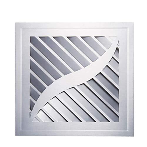 LXZDZ Escape Ventilador de techo, Ventilador de ventilación, cuadrada o pared Extintor Tamaño 30 * 30 * 11.5cm