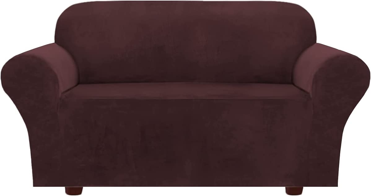 Max 54% OFF Velvet Max 61% OFF Stretch Sofa Covers Loveseat Cushion Couch 2 for C